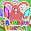 Online hry - 3 Rabbits' Puzzle